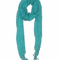 Express Women Green Scarf One Size Photo