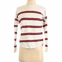 Express Women Ivory Pullover Sweater Xs Photo