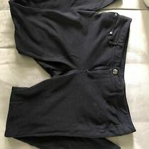 Express Women Jeans Ankle Jeggings - Black - Size L (Pre-Owned) Photo