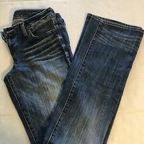 Express Women Jeans Size 4 Long Legging Mid Rise Photo
