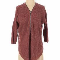 Express Women Orange Pullover Sweater S Photo