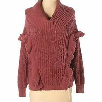 Express Women Pink Pullover Sweater Xs Photo