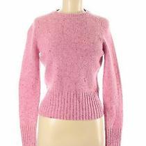 Express Women Pink Wool Pullover Sweater M Photo