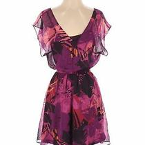 Express Women Purple Casual Dress Xs Photo