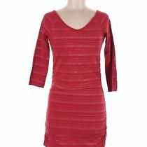Express Women Red Casual Dress M Photo