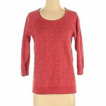 Express Women Red Sweatshirt S Photo