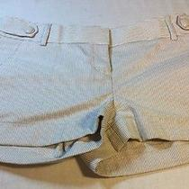 Express Women's 100% Cotton Stripe Size 2 Dress Shorts Nwot Photo