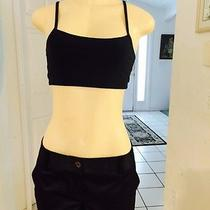 Express Women's Black Soft Short Shorts 4 Pocket Polyester Spandex Sz 8 Photo