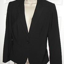 Express Women's Black Suit Jacket Blazer Career Euc Sexy Wear to Work Top Formal Photo