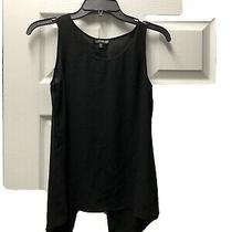 Express Women's Black Tank Top Drop Open Back Sexy Size Xs Photo