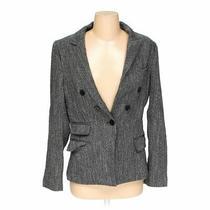 Express Women's Blazer Size 4  Grey  Elastane Polyester Spandex Viscose Photo
