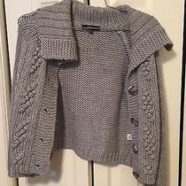 Express Women's Cropped Knit Sweater Size M Photo