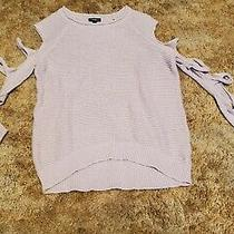 Express Women's Cutout Arm Sweater Size Xs Pink Photo