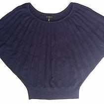 Express Women's Dark Purple Knit Top Sweater Size Xs Photo