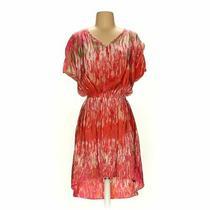 Express Women's Dress Size Xs  Orange Pink Orange  Polyester Photo