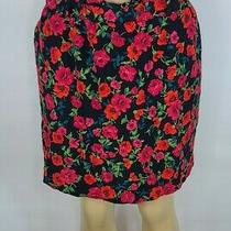 Express Womens Floral Skirt Size Xl Nwt Retail Price 59.90 Photo