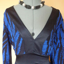 '' Express  '' Women's Gorgeous  Blackblue   Dress  Sizes    Photo