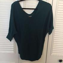 Express Women's Green Sweater Size M Photo