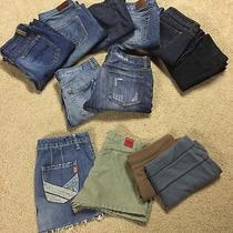 Express Women's Jean & Other Brands 5-8 Assorted (12) Lot  Photo