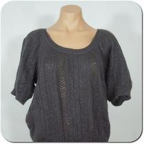 Express Women's Knit Sweater Top Short Sleeves Mohair Blend Size Xs Photo