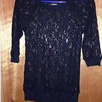 Express Women's Lace Shirt Xs Photo