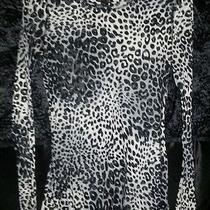 Express Women's M Cheetah Print Shirt Photo