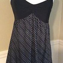 Express Women's  Medium Black Soft Stretchy Sleeveless Tank Mini Dress Photo