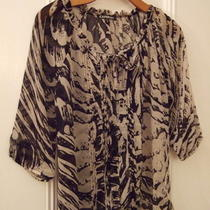 Express Women's Sheer Blouse Size S Photo