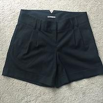 Express Women's Shorts Size 0 Black Dress Shorts Editor Photo