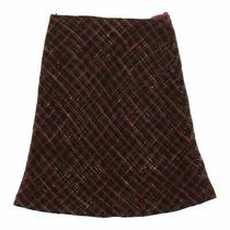 Express Women's Skirt Size 0  Brown Blue/navy  Other Photo