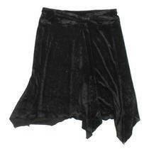 Express Women's Skirt Size M  Black  Rayon Polyester Photo