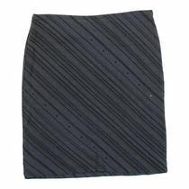 Express Women's  Skirt Size Xs  Grey  Wear to Work  Polyester Rayon Photo