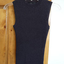 Express Women's Sleeveless Stretch Sweater-Like Top Juniors Size M  Photo