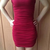 Express Women's Soft Red Dress  Photo