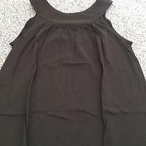 Express Women's Solid Brown Sleeveless Tank Top Xs Photo