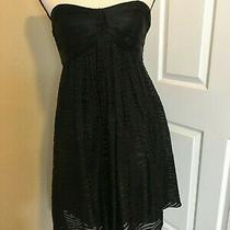Express Women's Strapless Little Black Dress Size 8 Party Coctail Dress Photo