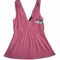 Express Women's Summer Top Pink Size Xs Brand New With Tags Bnwt Msrp 39.50 Photo