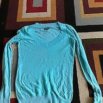 Express Women's Sweater Green Like New Photo