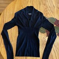 Express Women's Sweater - Xs - Black  Photo
