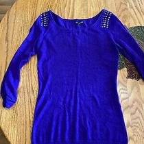Express Women's Sweater - Xs - Purple Photo