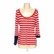 Express Women's  Sweatshirt Size S  Red White  Americana Girl  Cotton Modal Photo