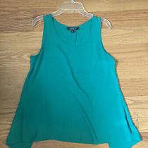 Express Womens Tank Top Green Size Xs Slit Back Photo