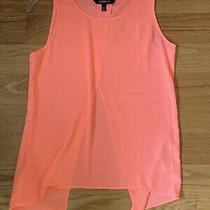Express Womens Tank Top Hot Pink Size Xs Slit Back Photo