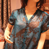 Express Women Sheer Blouse New Photo