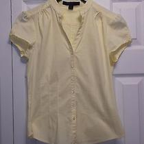 Express Women Shirt Size S Yellow Photo