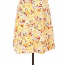 Express Women Yellow Casual Skirt 2 Photo