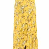 Express Women Yellow Casual Skirt M Photo