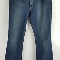 Express Womens Jeans Dark Wash Precision Fit Meristem St Tropez Bootcut Size 8 R Photo
