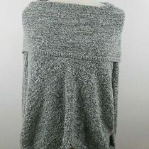 Express Womens Knit Wool Mohair Blend Ls Cowl Neck Blended Gray Sweater Size Xs Photo