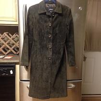 Express Womens Long Suede Jacket Photo
